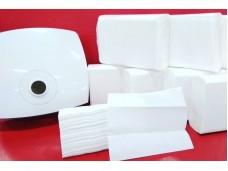 Бумажные полотенца для рук Z укладка.