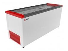 Морозильник горизонтальный FG 700 C красный