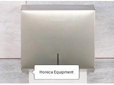 Диспенсер для бумажных полотенец (Z- укладка)  нержавейка.